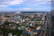 Free Top View Of Bangkok Of Thailand Stock Photo - 22067840