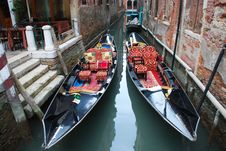Free Due Gondola Stock Photography - 22068792