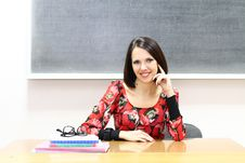 Free Young Teacher Stock Photo - 22069900