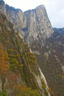 Landscape Of Mount Hua Stock Image