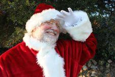 Free Santa Peering Into The Distance Stock Photos - 22071283