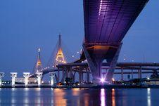 Free Bhumibol Bridge Stock Photos - 22071963