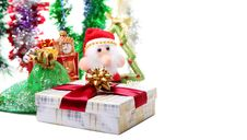 Christmas Toys And Decorations Stock Images