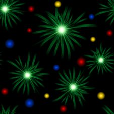 Free Abstract Christmas Background Royalty Free Stock Image - 22074196