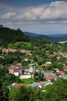 Free Old Castle In Banska Stiavnica, Slovakia Royalty Free Stock Image - 22076436