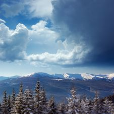 Free Winter Landscape Stock Image - 22078851