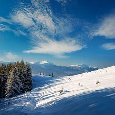 Free Winter Landscape Royalty Free Stock Image - 22078886