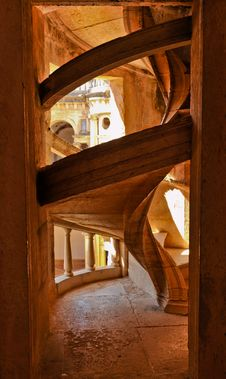 Stairs In Tomar Stock Photo