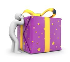 Free Difficult Choice Of Gifts Royalty Free Stock Photo - 22079535