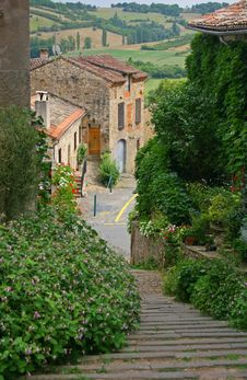 Free Little French Village Stock Photography - 22080212