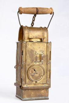 Free Old Brass Lantern Stock Photo - 22081660