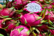 Free Exotic Thai Fruit. Dragon Fruit Stock Photos - 22082443