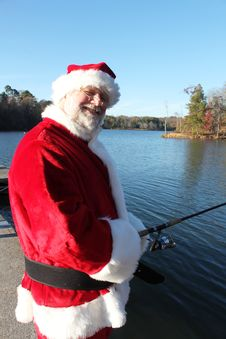 Free Last Fishing Break Before The Rush For Santa Stock Image - 22082781