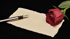 Free Love Letter Stock Photography - 22083192