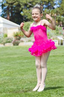 Free Happy Ballerina Stock Photos - 22084883
