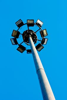 Free High Voltage Spotlights Stock Photo - 22086500