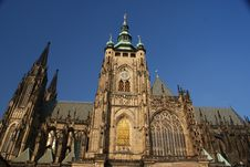Free St. Vitus Cathedral In Prague Royalty Free Stock Images - 22087059