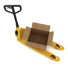 Free Pallet Truck Royalty Free Stock Image - 22087246