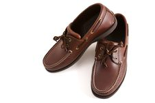New Brown Leather Casual Shoes Stock Images