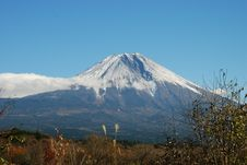 Free Mount Fuji, November Stock Photography - 22087582