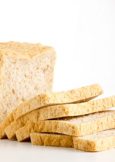 Bread Cut Royalty Free Stock Photos