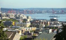Free Port Of Seattle And Surroundings. Royalty Free Stock Images - 22088969