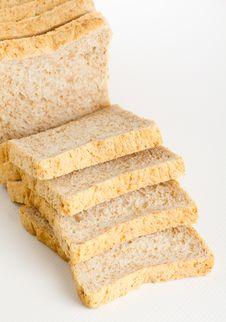 Bread Cut Stock Photography