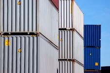 Free Shipping Container Royalty Free Stock Images - 22090169