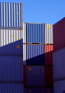 Free Shipping Container Stock Photos - 22090183