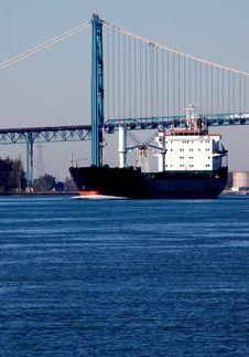 Free Ship On Detroit River Stock Photos - 22090383