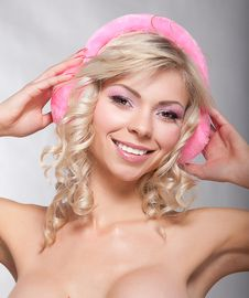 Free Portrait Of Beautiful Sexy Woman Stock Photography - 22094872