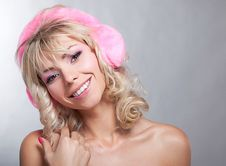 Free Portrait Of Young Attractive Woman. Royalty Free Stock Photos - 22094928