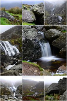 Free Collage Mahon Falls Stock Images - 22095484