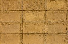 Free Walls Of Brown Clay. Stock Photography - 22096202