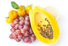 Free Mix Fruits Royalty Free Stock Images - 22098869