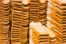 Free Church Roof Tiles. Royalty Free Stock Photography - 22099667