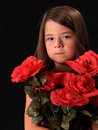 Free Girl With Flowers Royalty Free Stock Photos - 2211858