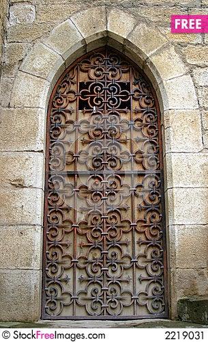 Gothic Medieval Door