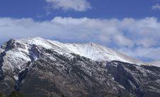 Grotto Mountain Stock Photo
