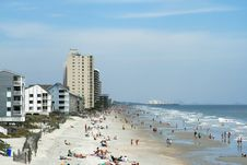 Free Garden City Beach Stock Photo - 2211840