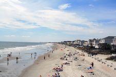 Free Garden City Beach Sunbathers Stock Photography - 2211842