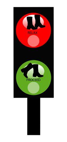 Free Pedestrian Traffic Signal Stock Photo - 2212160