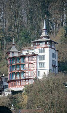 Free Nice Swiss Mansion 6 Royalty Free Stock Photos - 2213138