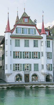 Free Nice Swiss Mansion 7 Royalty Free Stock Photo - 2213255