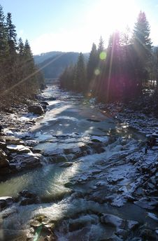 Free River In Mountains Stock Photos - 2213563