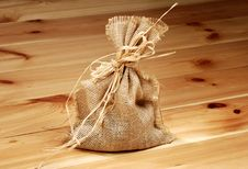 Free Sack With Secret Content Stock Photography - 2214932