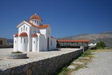 Free White Church, Crete, Greece Royalty Free Stock Photos - 2215128