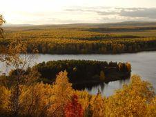 Free Autumnal Peninsula Stock Images - 2216584