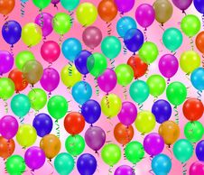 Free Colorful Party Balloons Stock Photo - 2216770