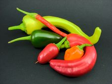 Free Hot Pepper Mix Royalty Free Stock Photo - 2217775